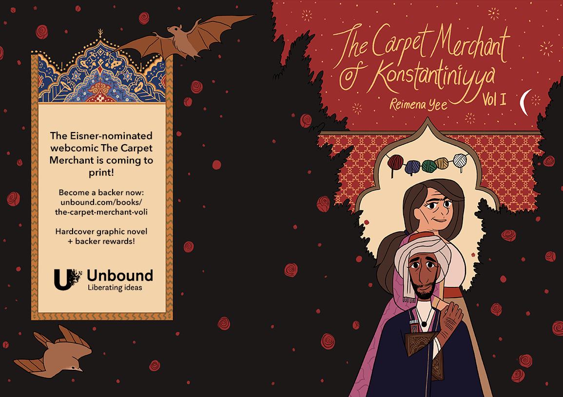 The Carpet Merchant Vol I Book Campaign