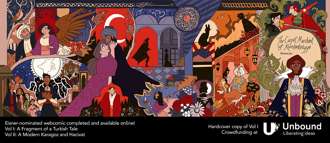 The Carpet Merchant of Konstantiniyya Online Omnibus